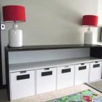 Contemp storage with built in chair and desk