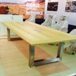 Custom boardroom table 2