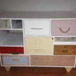 Custom drawer unit with supplied drawers