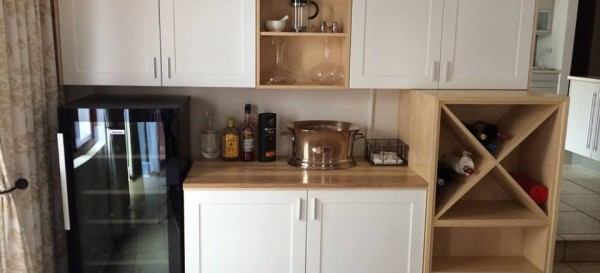 Custom kitchen shelving 2