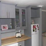 Custom kitchen shelving 5