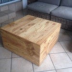 Cyprus box-chest coffee table