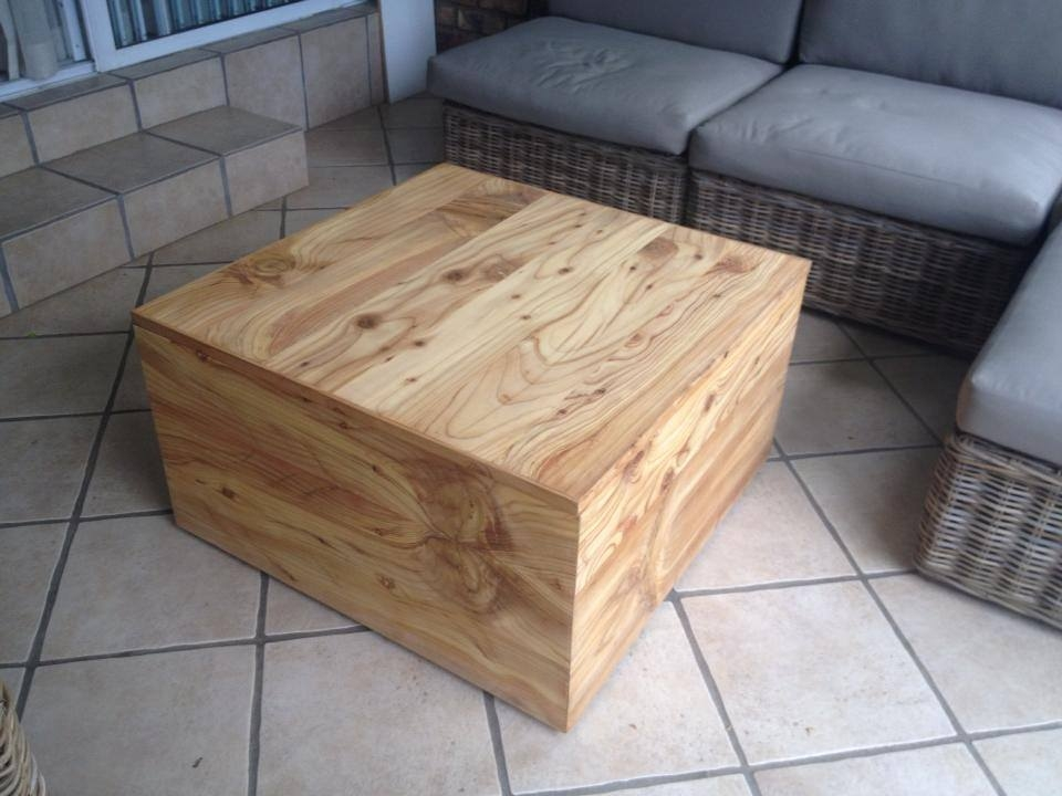 High Quality Cyprus Box Chest Coffee Table