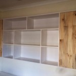 Floating shelve set
