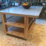 French Oak kitchen island