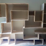 Funky Plywood shelving Unit