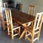Large Kitchen Table with chairs
