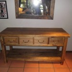 Side Server with drawers