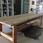 Elongated Kitchen Table