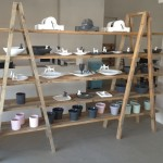 Trestle Shelving Display Unit