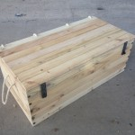 Large pallet wood chest