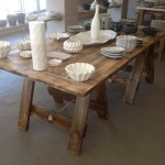 Trestle Serving Table