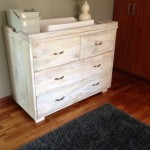 White Wash Chest of Drawers