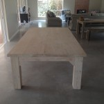 Heavy Duty White Was Table