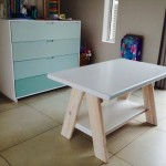 Kids Table and Drawer Unit