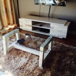 PLASMA UNIT and coffee table set