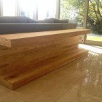 SOLID ASH FLOOR DISPLAY UNIT
