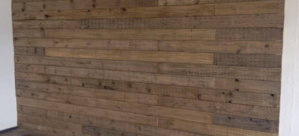 Weathered Pine Wall Paneling