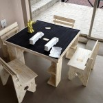 childrens play table with chalk feature