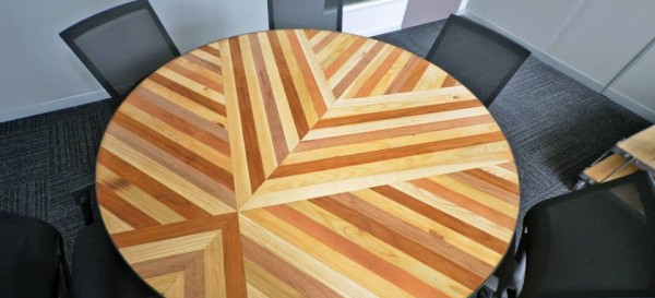 custom office table