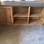 kitchen counter unit with shelving solution 3