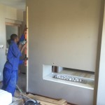 prep a wall for panelling